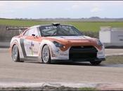 Nissan GT-R. carreteras montaña España patrimonio este superdeportivo