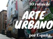 rutas arte urbano diferentes rincones España