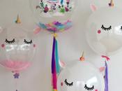 lindos centros mesa unicornio
