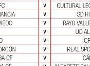 Calendario Sevilla Atlético LaLiga123 2017/18
