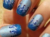 Regata Holográfico azul Azul Escarchado Masglo