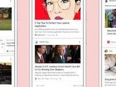 Google rehace buscador para móviles imagen semejanza Facebook