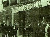Lápida Cardenal Cisneros calle homónima. Madrid, 1917