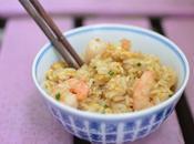 Arroz frito langostinos estilo thai