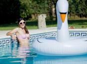 Seersucker bikini (OOTD)