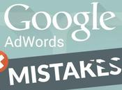 Errores comunes Google AdWords