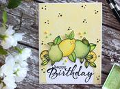 Citrus Watercolor Birthday Card