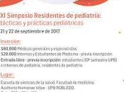 Simposio Residentes Pediatría universidad Pontificia Bolivariana
