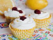 Receta: cupcakes limón frambuesa