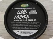 LUSH LOVE LETTUCE Mascarilla Facial Fresca