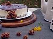 Tarta nata chocolate horno