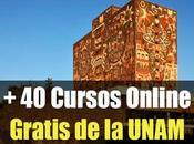 Cursos online gratis certificados UNAM