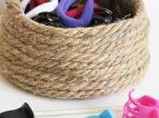 Cómo hacer cesta cuerda sencillos pasos