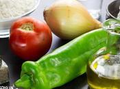 Receta coca trampó (coca salada tomate, pimiento cebolla)