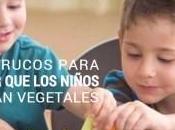 Trucos para lograr niños coman vegetales
