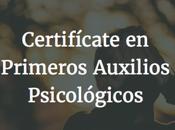 Curso online Universidad Jonhs Hopkins Primeros Auxilios Psicológicos