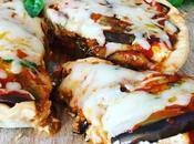 Tarta berenjenas grilladas ricotta mozzarella
