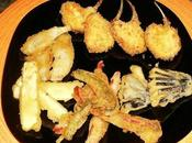 Chuletas lechal, villeroy, verduras tempura