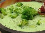 Crema brócoli