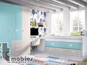 Dormitorios juveniles: organiza espacio habitaciones pequeñas