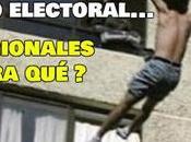 Suicidio electoral... regionales para qué?