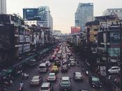 Contaminación urbana, transporte público cambio climático