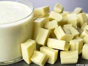 Receta ganache chocolate blanco