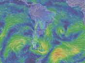 página muestra fenómenos climáticos tiempo real