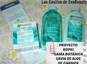 Proyecto Bopki. Nueva Gama Botánica Savia Aloe Garnier (Pieles normales mixtas)