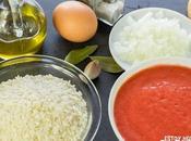 Receta arroz blanco tomate