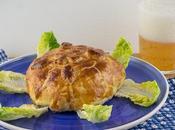 Hojaldre camembert relleno mermelada frutos secos