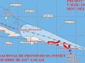 Aviso ciclon tropical. centro pronósticos, insmet.