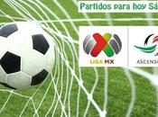 Partidos Liga Ascenso Sábado Septiembre 2017