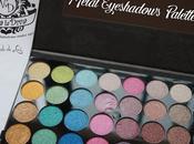 VIVA DIVA, Metal Eyeshadows Palette.