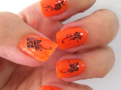 Reto vol5: Manicura color naranja