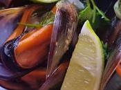 Mejillones mantequilla lima