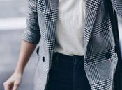 Style tips; wear check blazer.-