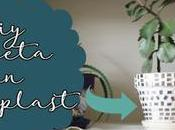 Diy: decorar maceta aguaplast