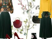 Inspiración falda plisada verde