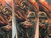 impresionantes tatuajes temáticos guerra Parte