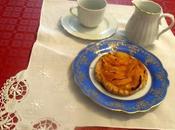 Hojaldre mandarina crema pastelera moscatel