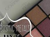 Paleta Cosmic Metals Nyx: ¿Merece pena? (Reseña swatches)