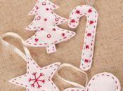 ideas fantásticas manualidades fieltro para Navidad