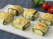 Raviolis calabacín rellenos ricotta espinacas