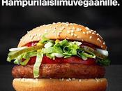 McDonald's LANZA PRIMER HAMBURGUESA VEGANA 100% ORIGEN VEGETAL!