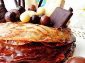 Pastel creps chocolate