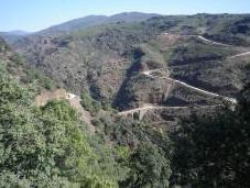 Ruta motera atrevida Sierra Norte