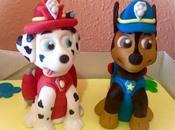 Modelado Chase Marshall, oreos Patrulla canina bolas donut decoradas