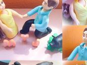 Modelados, cupcakes, cake pops oreos chocotransfer para pedida mano