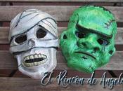 Mascaras para halloweeen, pintalas misma